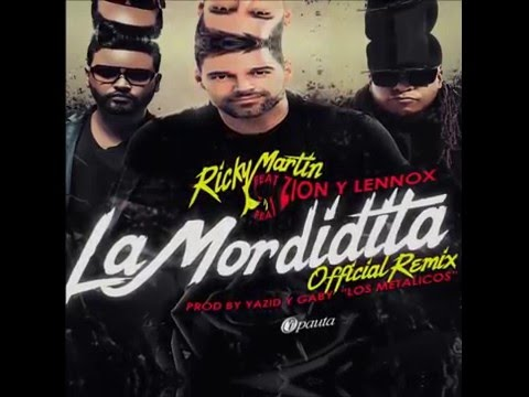 Zion Y Lennox Ft Ricky    -  Mordidit@ (oficial Mp3)