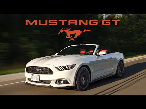 2017 Ford Mustang GT Convertible Review - Ultimate Cruiser