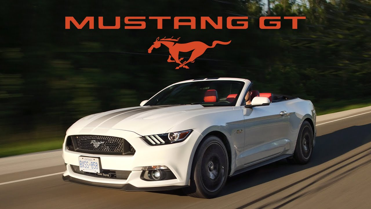 2017 Ford Mustang Gt Convertible Review Ultimate Cruiser