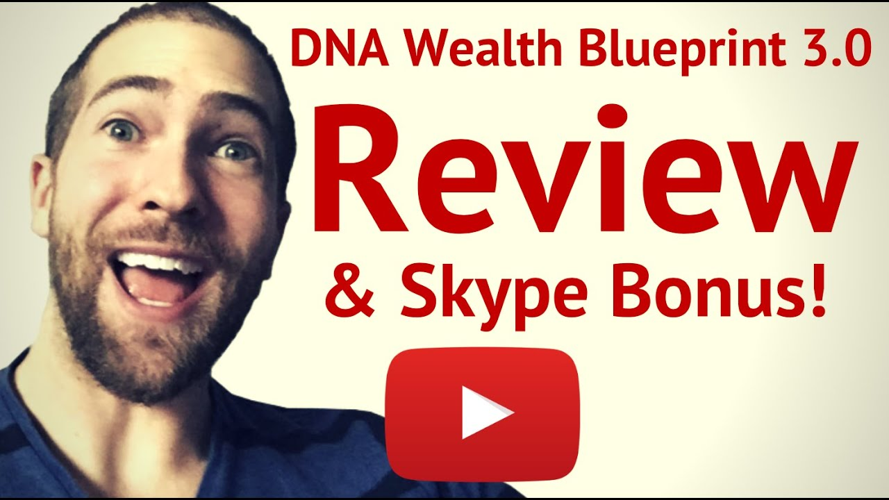 Dna wealth blueprint 30 review youtube dna wealth blueprint 30 review malvernweather Gallery
