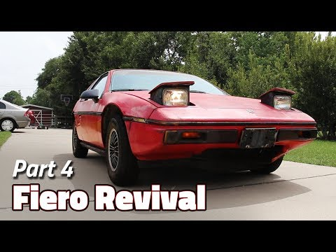 Blink Once If Your Headlights Go Up and Down | 1985 Fiero 2M