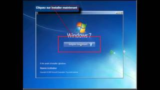 1 - Formatage et Installation de Windows 7