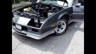 1982 Chevrolet Camaro Z28 Vehicle Overview