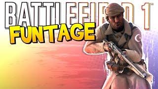 BATTLEFIELD 1 FUNTAGE! - Riding the Train, Muffin Break & More!