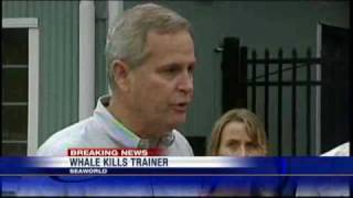 SeaWorld Trainer Killed By Whale
