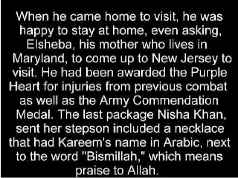 Kareem Khan, Colin Powell's Inspiration