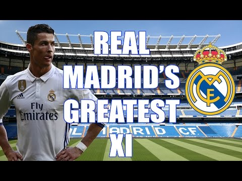Real Madrid's All Time Greatest XI