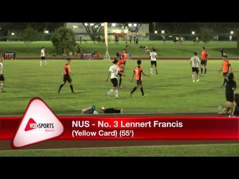 Singapore University Games 2014 : Football (M)- NUS vs NTU (22 September 2014)