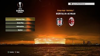 Pes 2017/2018 - new europa league graphic & intro