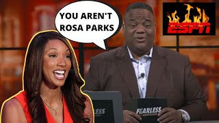 Jason Whitlock HAMMERS Maria Taylor For Playing RACE Card Against ESPN | She's NO Rosa Parks!