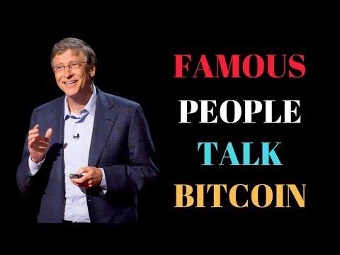 Famous Bitcoin Investors | Celebrities Talk Bitcoin