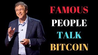Famous Bitcoin Investors | Celebrities Talk Bitcoin
