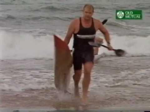 WAYNE ASHFORD LIBRARY OF SURFSKI PADDLING -SKI 5 BEACHES 1999