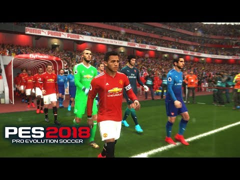 🔥 PES 2018 | Alexis Sánchez  Vs Mkhitaryan - Manchester United Vs Arsenal | PC Gameplay By Fujimaru