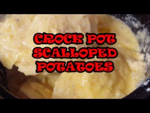 CROCK POT SCALLOPED POTATOES