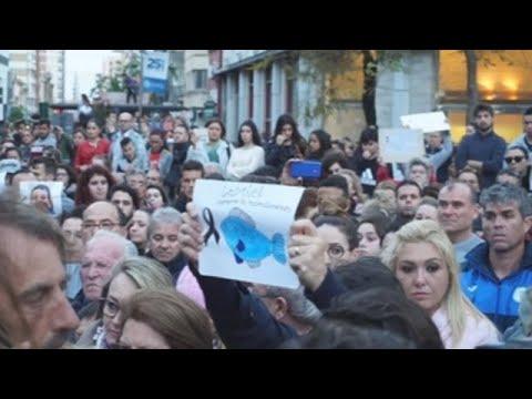 Unas 12.000 personas guardan silencio en Almería por la muerte de Gabriel