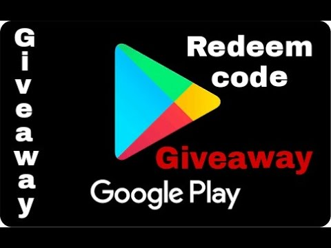 Play store redeem code {giveaway} 2017 - YouTube