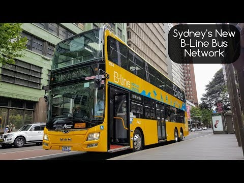 Sydney Trains Vlogs: Sydney's New B-Line Northern Beaches Bus Network