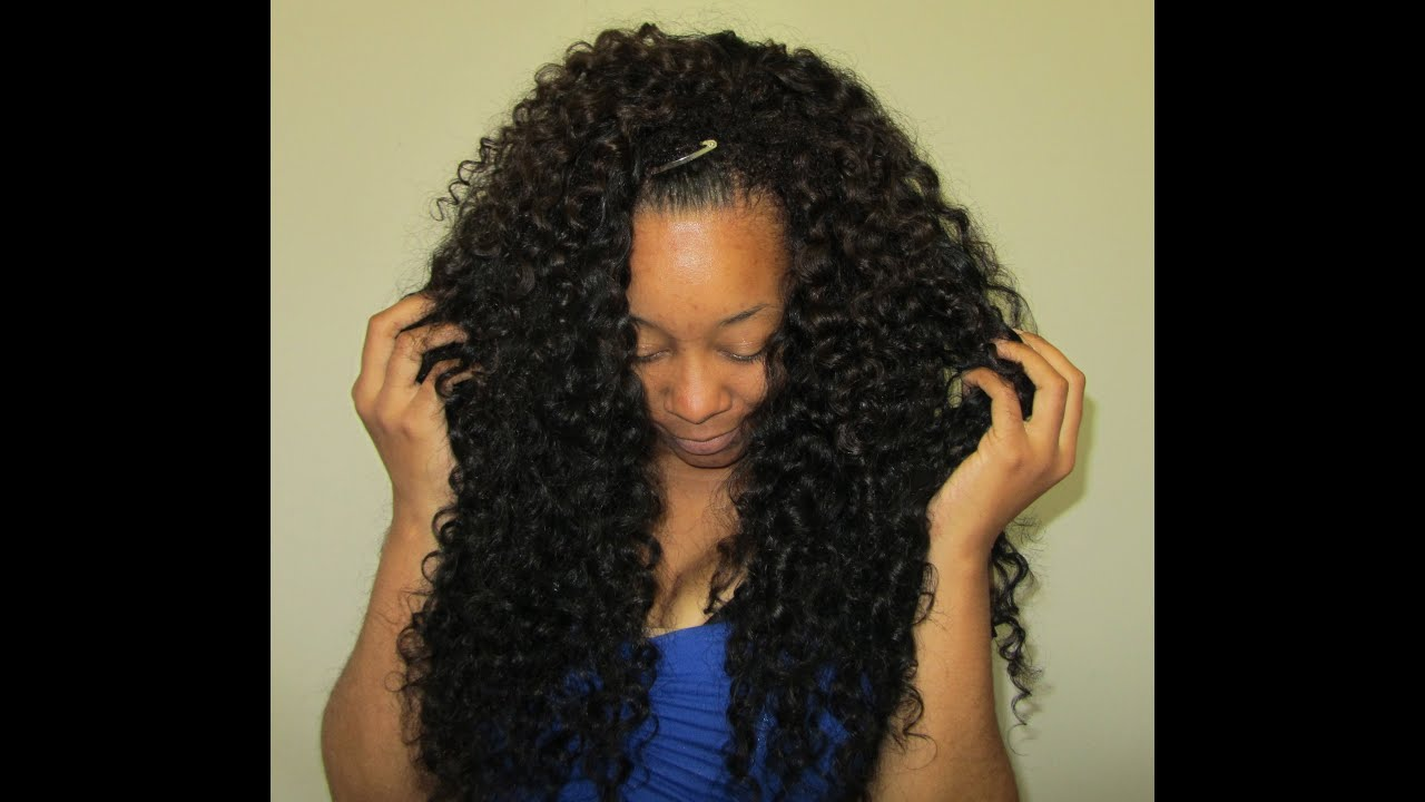 Blending Natural Black Hair With Weave