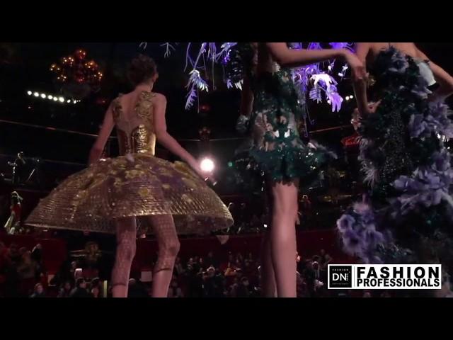 Lauren de GRAAF at Guo PEI fashion show 2018 | DNMAG