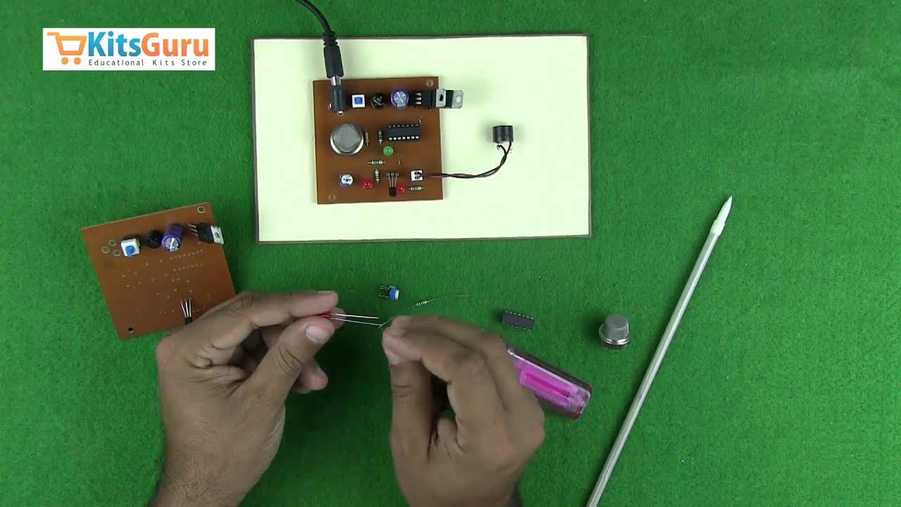 Gas Leakage Detection Alarm By Kitsgurucom Lgkt012 Youtube Lm324 Comparator Circuit Http Circuitdiagramhqewnet Simple Premium