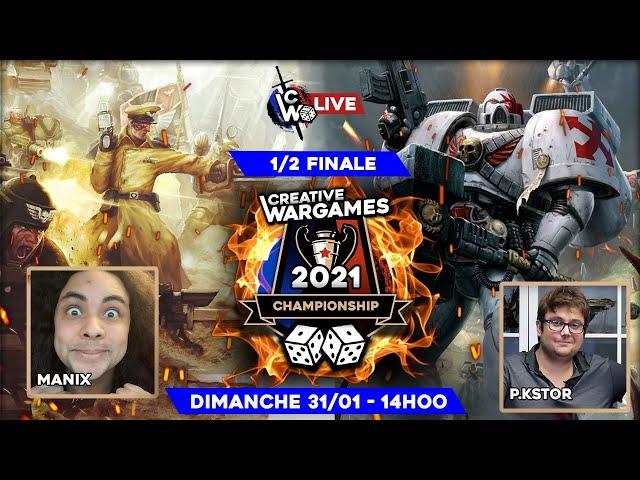 Creative Wargames Championship 2021 - White Scars VS Astra - Warhammer 40.000