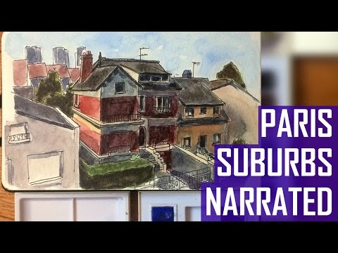 Houses in a Parisian Suburb (Narrated Version)