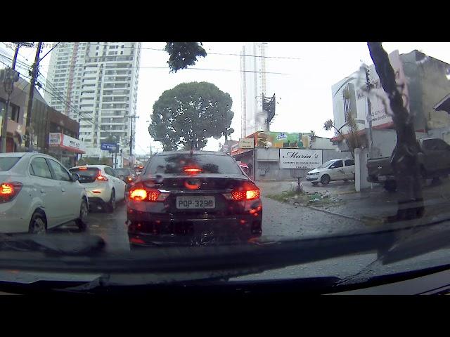 Filmagem no carro com camera NavCity NG200W - 4K