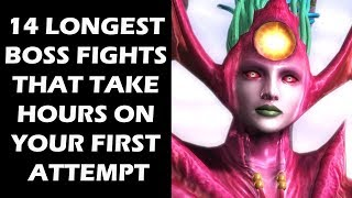 14 Longest Boss Fights That Take Hours On Your First Attempt