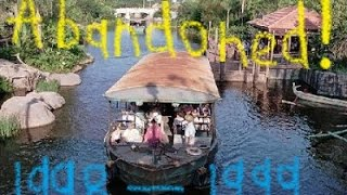 Discovery River Boats walt disney world ABANDONED