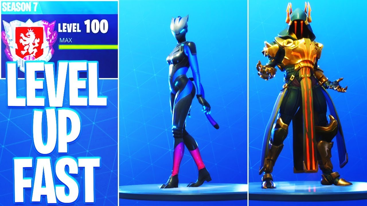 How To Level Up Fast In Fortnite Unlock Max Lynx Max Ice King Max