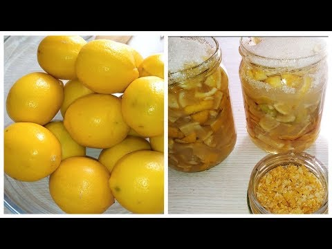 Вопрос: Как хранить лимоны?