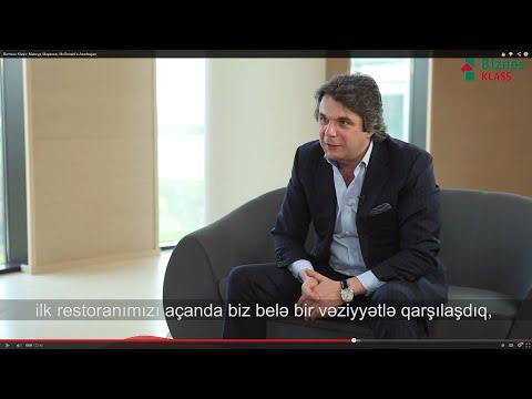 Bizness Klass: Максуд Мирзоев, McDonald's Azerbaijan