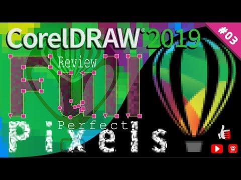 CorelDRAW 2019 Full Review #03 Novo Pixel Perfeito