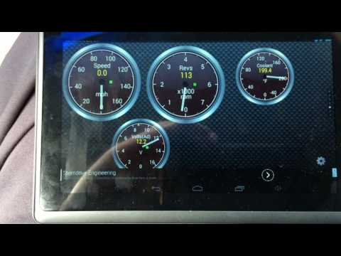 How To: Bluetooth Virtual Gauges With A Tablet, LS1 5.3 6.0