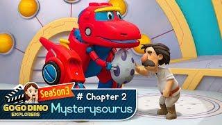 🌟 [Season 3]GOGODINO EXPLORERS Chapter 2) Mysterysourus🌟 /  Dinosaur / dino /  children / Song