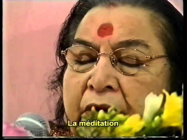 -Minimum of minimum, be thoughtless for one second - by Shri Mataji 2002 +  french subtitles