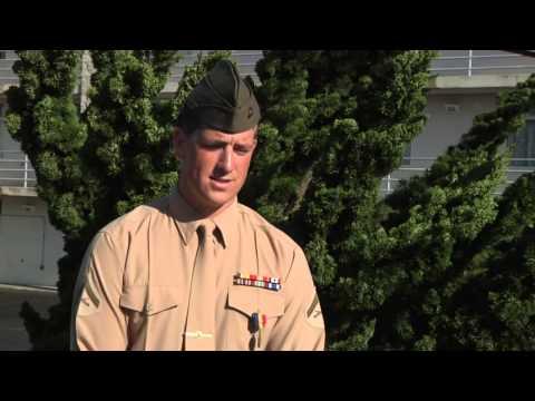 LCpl Benjamin Nalls Awarded Navy and Marine Corps Medal