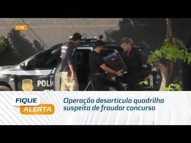 Operação desarticula quadrilha suspeita de fraudar concurso da Policia Militar de Alagoas