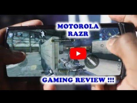 MOTOROLA RAZR 2019 - Review For Gaming !!!