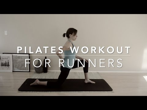 40 minutes Pilates for runners