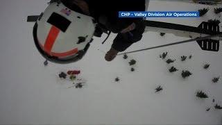 Paramedic rescues skier who fell 200 feet near South Lake Tahoe