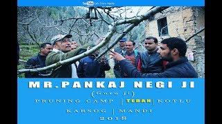 2018 | Mr. Pankaj Negi ji | Pruning Camp | TEBAN | KOTLU | Karsog | Mandi  | Lets Grow Apple