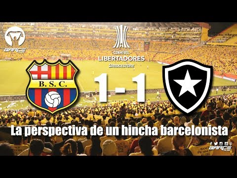 Barcelona 1 (Ecu) vs Botafogo 1 (Bra) Conmebol Libertadores 2017
