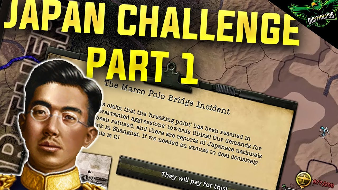 HOI4 Japan - World Conquest Historical Challenge - Part 1 (Hearts of Iron 4  Man the Guns)