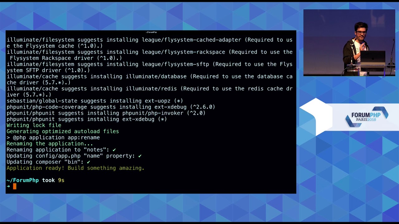 Illuminez les applications de console avec Laravel Zero - Nuno Maduro -  Forum PHP 2018
