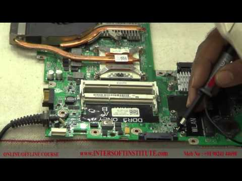 How to use a CRO (Oscilloscope), CRO Setting, Signal Tracing, Motherboard Chip Level Repair Training