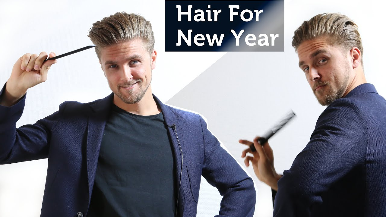 New hairstyle man 2015