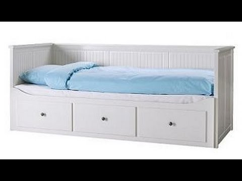 Ikea sofabett hemnes  IKEA HEMNES Daybed Assembly Instructions - YouTube