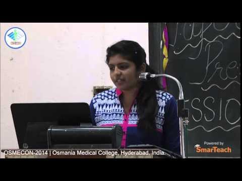 Paper Presentation - Nethra N. of Shri BM Patil Medical College, Bijapur